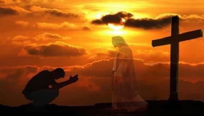 en el nombre de jesus nos acercamos al padre