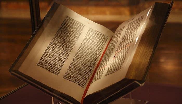La biblia, y su estructura