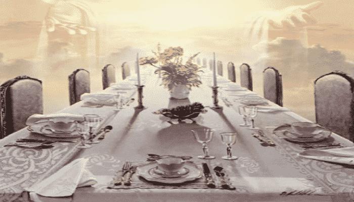 cena de las bodas del cordero