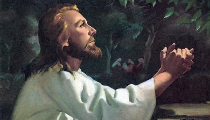 jesus odece al padre