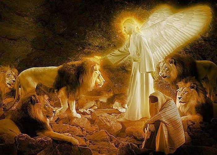 Significado del nombre Daniel en el foso de los leones