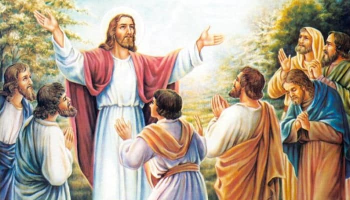 La liberación espiritual Jesús predicando