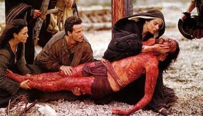 caracteristicas de la sangre de jesus derramada en la cruz
