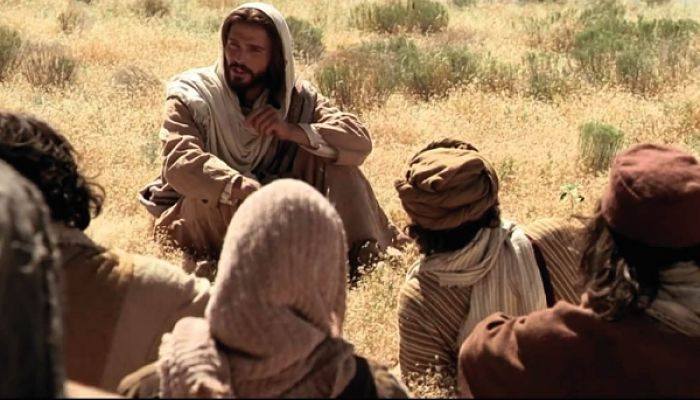 Mateo 6:33 Buscad su reino en la tierra