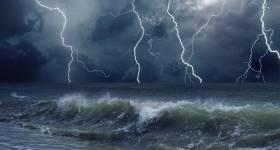 Jesús calma la tempestad. Que es