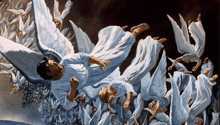 el cielo esta a favor de los guerreros de Dios