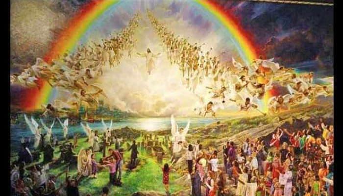 El trono de Dios para establecer su reino