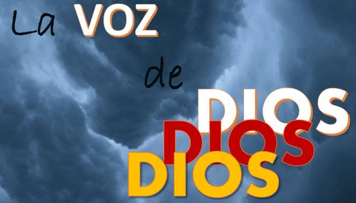 La voz de Dios audible