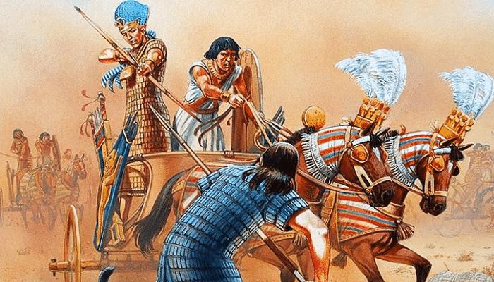 Pueblo abatido por los faraones