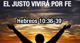 el justo por la fe vivirá