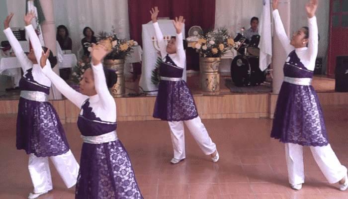 alabando a través de la danza