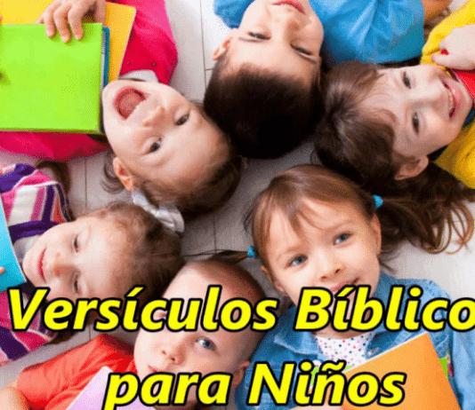 versículos con imágenes para niños
