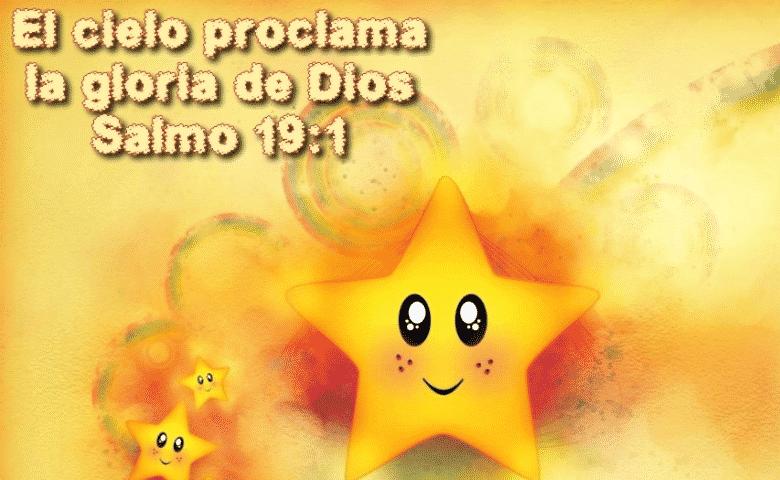 Salmo 19: versículos con imágenes para niños