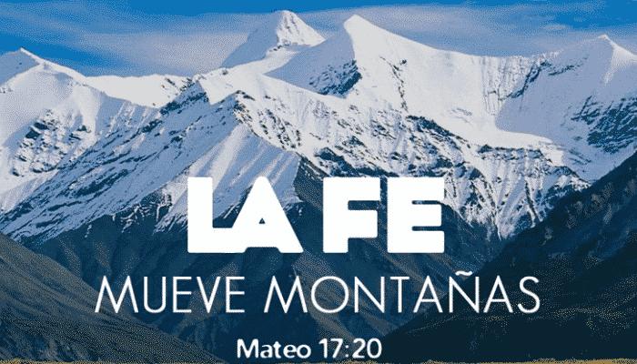 fe y montaña