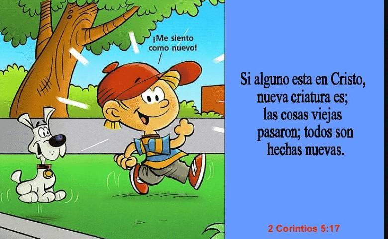 versículos con divertidas imágenes para que los niños memoricen con facilidad