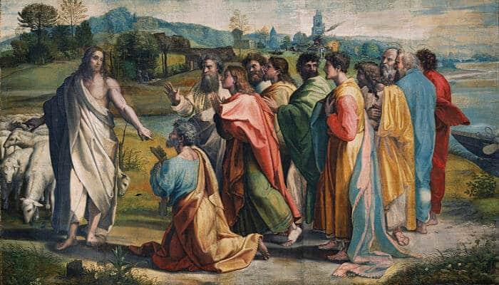 jesus en el sermon del monte