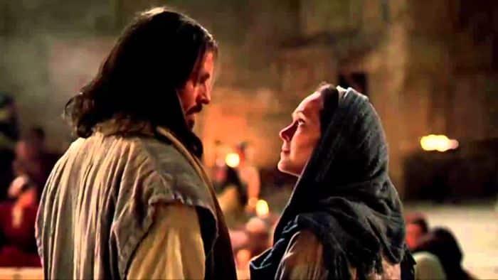 Jesús convierte el agua en vino
