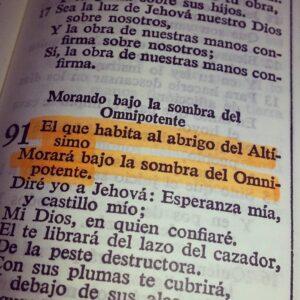 Salmo 91 para Protección del Hogar