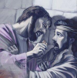 La Falta de Perdón del Siervo Personado por el Rey