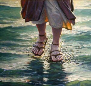Jesucristo Camina sobre las Aguas